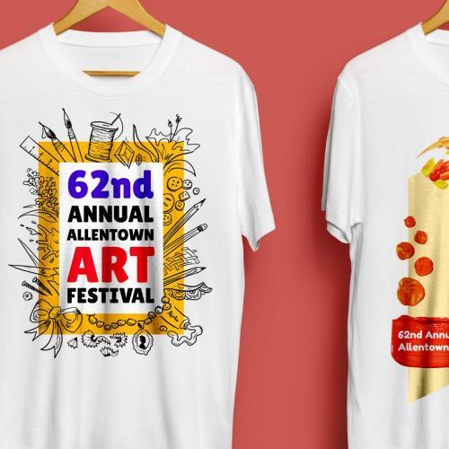 Allentown Art Festival T-Shirt & Poster Designs