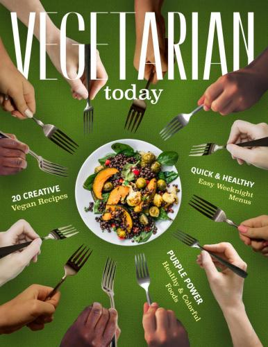 Vegetarian Today Magazine Cover
