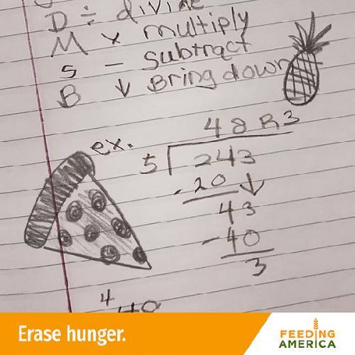 Feeding America Poster Campaign