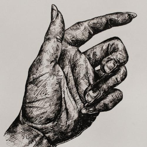 Pen & Ink Hands