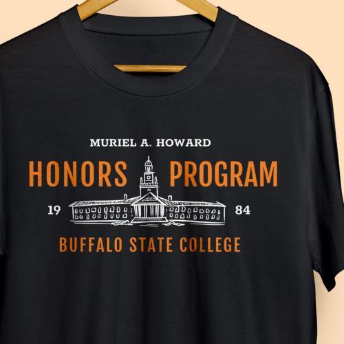 Muriel A. Howard Honors Program Shirt Design 2019