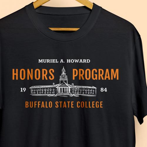 Muriel A. Howard Honors Program Shirt Design 2019