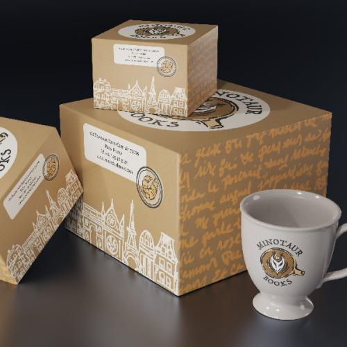 Minotaur Books Branding & Packaging