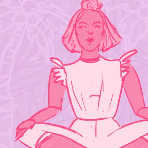 4.16.19 - Pink Girl