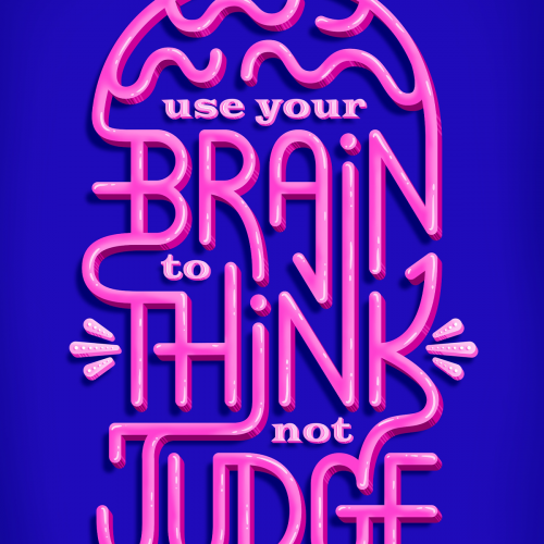 Think Not Judge